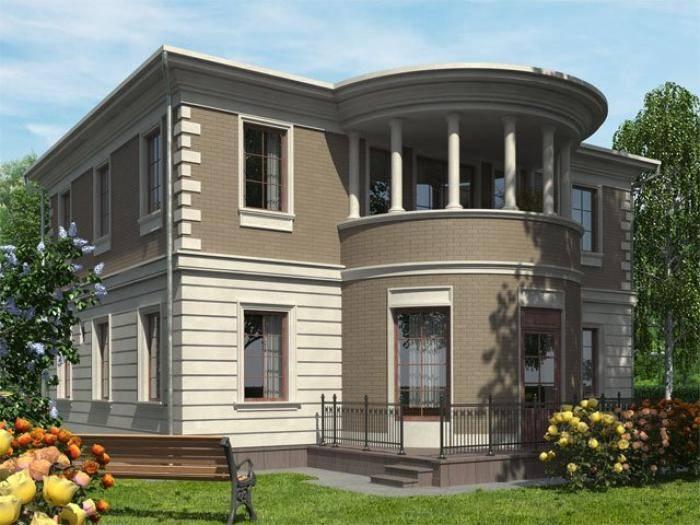 Фасад дома в КП «Орловъ»