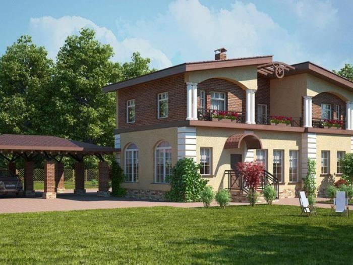 Один из домов КП «Vita Verde»