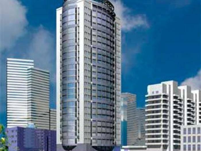 Рендер здания ЖК Панорама